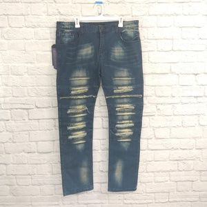Hard Soda | Distressed Jeans